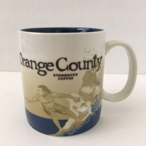 Starbucks 2009 Orange County Global Icon 16 oz Mug